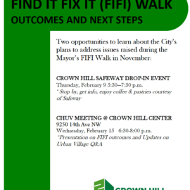 What Happened After the Mayor's Find It Fix It Walk?
