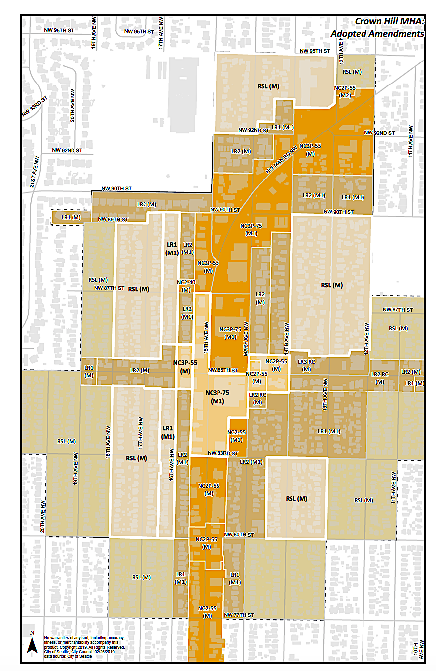CHUV Rezone Maps and Information - Updated March 1, 2019